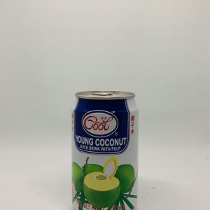 Young Coconut Juice Drink With Pulp