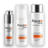 Aqua+ Series soothing purifying toner essence and cleansing